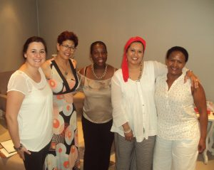 Our October group of ladies who attended the Support Group